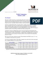 The Monarch Report 10-3-11