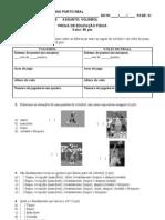 Prova Vi Fase Ef Voleibol