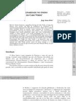 A Transdisciplinaridade No Ensino Superior Em Cabo Verde
