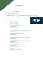 Polymorphis Abstract Interface SampleCode4CSharp