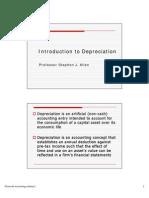 Lecture 3 - Depreciation