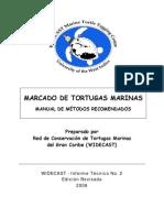 Marcado de Tortugas Marinas - Manual de Métodos Recomendados