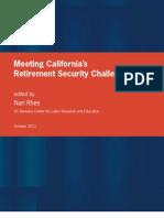 Meeting California's Retirement Security Challenge