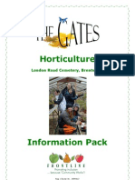 Gates Horticulture Therapy Project