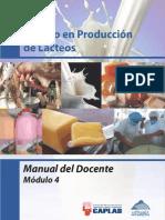 Manual Del Docente Lacteos_Modulo 4