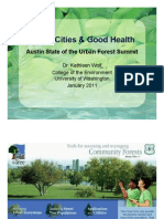 Green Cities and Good Health