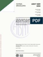 ABNT NBR8890-Tubos de Concreto.