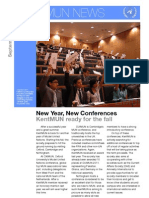KentMUN October Newsletter