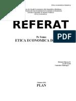 Etica Economica Islamica