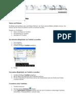 ArbbTextfelder Und Tabellen