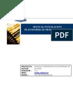 Hontzaservidor v1.0.0 Manual Instalacion