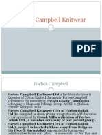 Forbes Campbell Knitwear
