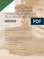 Discursos Utopicos y Distopicos de anor y humor en la creacion de la identidad caribeña