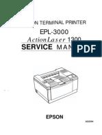 Epson EPL-3000 Service Manual