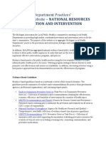 National Resources for Prevention and Intervention Strategies 0