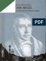 Perez Soto Carlos Desde Hegel