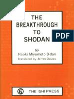 Go Igo Baduk Weiqi the Breakthrough to Shodan