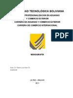 Monografia Texto de Trabajo 2011 Sep