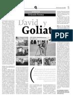Cine David vs Goliat