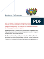 CSR_Policies_Business Philosophy