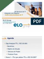ITIL - ISO 20000