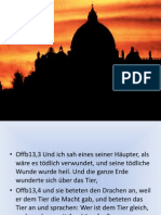 Katholische Kirche und Ökumene - Papst Rede im Bundestag - Vatikan - EKD - Biblische Prophetie