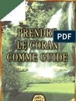 Prendre Le Coran Comme Guide