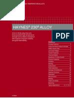 Hastaloy H230
