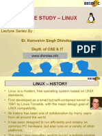 CaseStudy Linux Final 2007