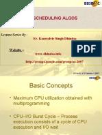 Ch 5 CPU Scheduling