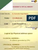 Virtual Memory1 March2007
