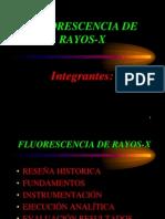 Espectrometria Fluorescencia Rayos X - Maria