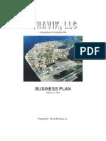 Foam Panels, '03 Business Plan