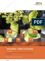 Renewables Made in Germany 2010 2011