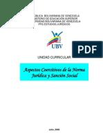 Aspectos Coercitivos de la Norma Jurídica y Sanción Social