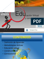 Educacion Virtual y Constructivismo