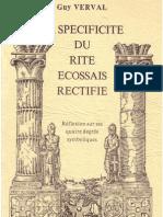 RER Specificite Book