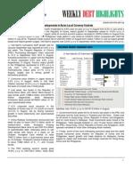 Asian Bonds - Weekly Debt Highlights