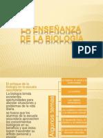 La Enseñanza de la Biología