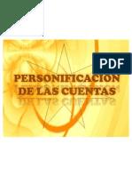 PERSONIFICACION DE CUENTAS
