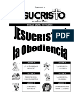 Curso Jesucristo Mod.7. Instructor.obediencia