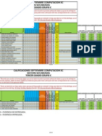 Calificaciones 3c-s Septiembre 11-12