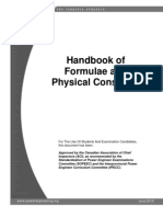 Handbook Formulae Constants 2010 Updated 20Apr 2014-11