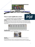 Sound Amplification System