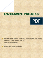 Environment Pollution m