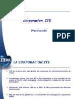 Presentación ZTE 2009