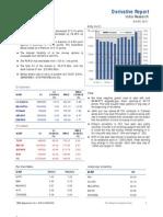 Derivatives Report 3rd October 2011