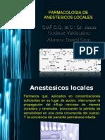 Anestesicos Locales Empleados en Odontologia
