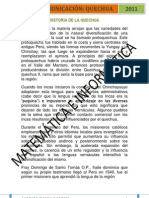 HISTORIA QUECHUA