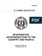 US Marine Corps - Afghanistan-An Introduction to the Country and People